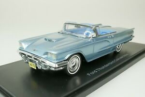 Ford Thunderbird Convertible 1960 Blue 1/43 Neo 46057 New