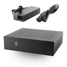 MX500 Industrial Fanless Mini-ITX Case w/ 80W DC-DC Power Board & 60W AC Adapter