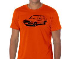 Car T-shirt Vehicle Volkswagen Golf Mk2 VW II base gift for men city tdi AUT004