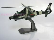 Z-9 metal military aircraft helicopter model (L)
