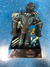 "NEW Marvel BLACK PANTHER 40"" x 50"" Soft THROW BLANKET & PILLOW Plush Figure"