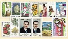 Syria - 13 different postage stamps - MNH