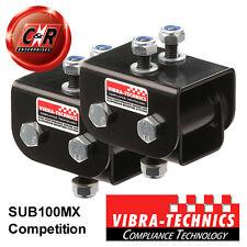 2x Subaru Impreza WRX, STi, GC8 GDB Vibra Technics Eng Mnts F.Road/Comp SUB100MX