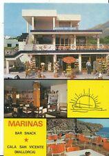 Spain Postcard - Marinas - Bar Snack - Cala San Vicente - Mallorca  DD94