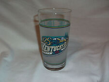 1999 125th Kentucky Derby Tumbler Glass Churchill Downs