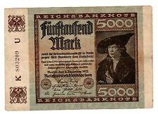 Allemagne GERMANY BILET 5000 MARK 1922 P81 BERLIN BON ETAT