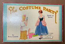 "1933 SAML GABRIEL SONS & CO. ""THE COSTUME PARTY"" 2 PAPER DOLL SET w/STORYBOOK"