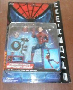 SPIDER-MAN POWER PUNCH ACTION FIGURE 2002 TOYBIZ COLLECTIBLE