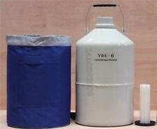 2 L Flüssigstickstofftank Kryogener LN2-CONTAINER-DEWAR Mit Riemen oo