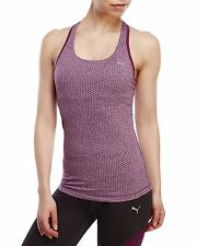 New PUMA Women's Essential Graphic Racerback Training Gym Tank Top 513412 07 XL