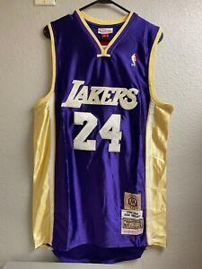 New Kobe Bryant Jersey Black Mamba Mitchell and Ness Los Angeles Lakers XL