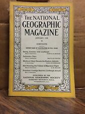 National Geographic January 1928 Issue - Volume LIII Number One (NG7)