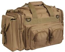 Brown Tactical Concealed Carry Bag Pistol Gun Range Large Duffle CCW Rothco 2653