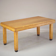Art Deco Dining Table - Blonde Oak (delivery available)