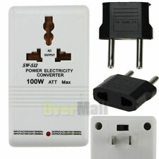 110V 120V to 220V 240V Step-Up&Down Voltage Converter 100W Transformer +US To EU
