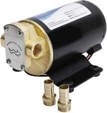 12v 32gpm 120lpm Oil Pump Turbo Pump Gear Pump Self Priming Reversible