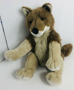 Build A Bear Wild Coyote Plush Stuffed Animal Toy BABW Retired Very Rare 12""