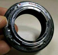 Nikon F Ai-s Camera adapter Ring  reverse macro unknown bayonet mount