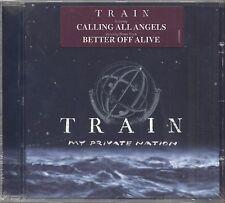 TRAIN - My private nation - CD 2003 SIGILLATO SEALED
