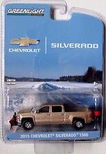 2015 CHEVROLET SILVERADO Z/71 WITH SNOW PLOW AND SALTER GREENLIGHT