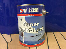 (�'�15,80-17,26/1L) Wilckens 1-K Super Yachtlack Bootslack 750ml o. 2,5L farbig