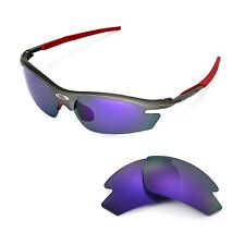 Walleva Polarized Purple Replacement Lenses For Rudy Project Rydon Sunglasses