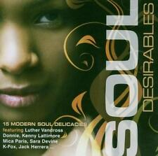 SOUL DESIRABLES 15 Modern Soul Delicacies NEW & SEALED CD (EXPANSION) R&B
