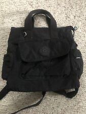 Kipling 2-In-1 Convertible Tote Bag Backpack - Black