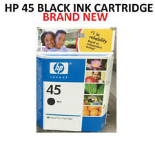 New Genuine HP 45 Black Ink Cartridge 51645A Print 930 Pages