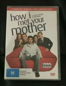 How I Met Your Mother : Season 1 (DVD, 2007, 3-Disc Set) Very Good Condition R4