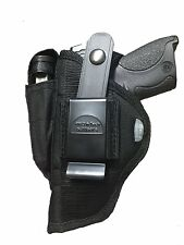 "Pistol Holster with Extra Magazine Pouch For Sig/Sauer Mosquito  4.9"" Barrel"