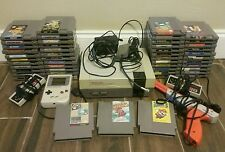 HUGE Vintage Nintendo NES Console 49 Game Lot with Gameboy Gun 2 Controllers
