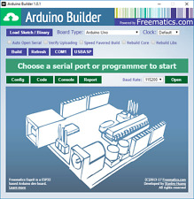 Arduino Builder (Software for Building and Uploading Arduino Sketches) PC USB