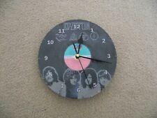 "LED ZEPPELIN 4 THEMED 7"" wall clock upcycled"