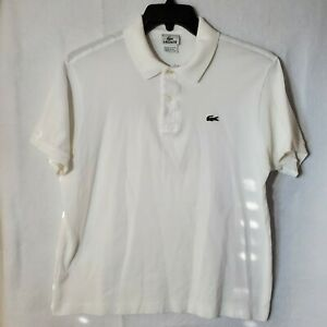 Lacoste Classic Fit Blue Golf Polo Shirt Men's Size 6 US Large Short Sleeve