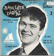 JEAN CLAUDE DARNAL Du bleu EP FONTANA