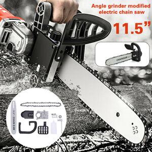 """11.5"""" Kit Adaptador Amoladora Flexible Angular Sierra Eléctrica Motosierra Barra"""