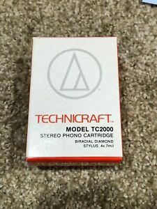 Audio Technica Technicraft TC2000 (AT11E) Turntable Cartridge