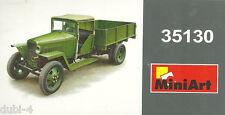 MiniArt 35130 - GAZ MM Cargo 1,5 t Truck 1941 - 2 Figures russischer LKW - 1:35