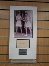 Georges Carpentier signed autograph, French Light Heavyweight boxer