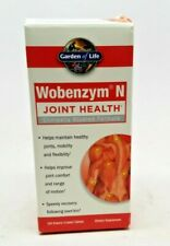 Wobenzym N  for Joint Health & Anti-Inflammatory Garden Of Life 100ct 1/2021