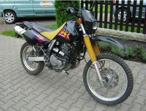 Suzuki DR 650 SE 1996-2000 Sturzbügel schwarz Motorschutz Schutzrahmen