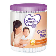 100 buds Cotton Buds 100% Pure Baby Cheramy Buds Double Head For Cleaning Ears