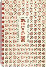 CLEVELAND, OHIO COOKBOOK - CATHOLIC UNIVERSE BULLETIN COOKBOOK - 1967 - ETHNIC