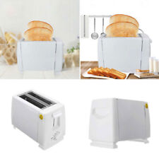 NEW Kitchen Electric 2 Slice Sandwich Toast Toaster Maker 750w White  New