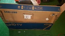 SAMSUNG UN55NU7100F 55 in LED 4K Ultra HD Smart TV - Damaged PLEASE READ