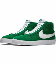 NIKE SB ZOOM BLAZER MID SUADE PINE GREEN WHITE MEN SIZE 10 NEW 864349 311 afbaf07062