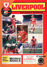 1983/84 Liverpool v Wolverhampton Wanderers, Division 1, PERFECT CONDITION