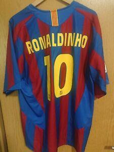 Ronaldinho Trikot Barcelona Original Größe XL