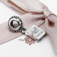 Pandora, Adventure Awaits, Passport, S925, Pendant Charm, NEW, 791147CZ